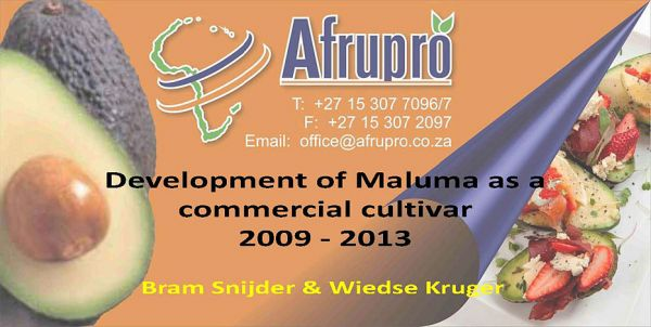 Afrupro   Development of Maluma Page 01